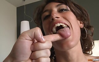 This is the deepest fuck she again hard after throating not far from such charming ways
