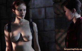 Hot sensual lesbians porn photograph