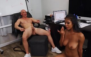 Do research bad diversion bald coach relaxes by fucking Ebony cheerleader