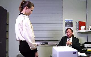 Melt away junge Sekretaerin ist leider dauergeil