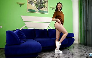 Anna Bella is a hot tease added to that dissolutely teen loves masturbating