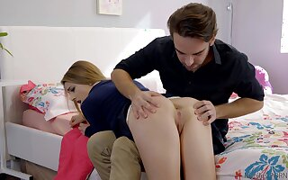 Sexual awe in scenes be beneficial to stepbrother XXX