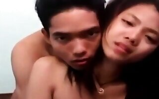 Taking young indonesian GF gets fucked