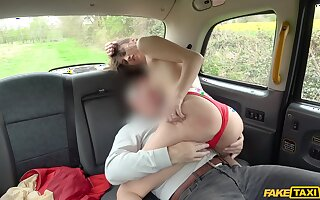 Curvy arse angel rides the big dick in crazy manner