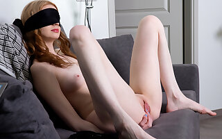 Linda Maers near Blindfold - Nubiles
