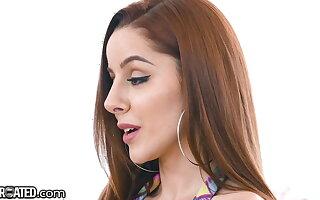 Throated - X Redhead Vanna Bardot Sloppily Throat Fucked