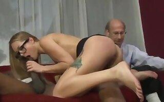 Hot secretary fucked with her boss Snap:mariababy325