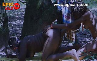 Ebony African Lesbians Play and Squirts here the Ingratiate oneself with