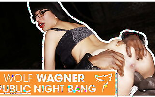 Emo girl Zeyna gets pounded out of doors handy night! wolfwagner.com