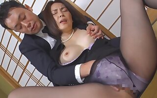 Japanese powered mommy amazing porn clip